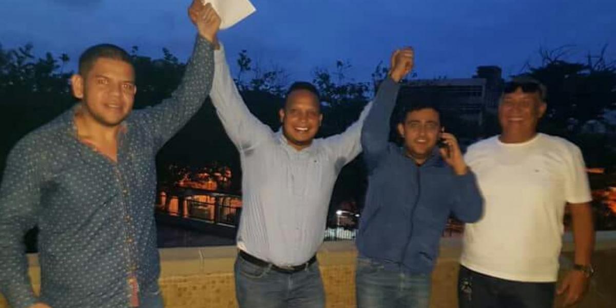 Víctor Acosta fue dejado en libertad por una captura ilegal.