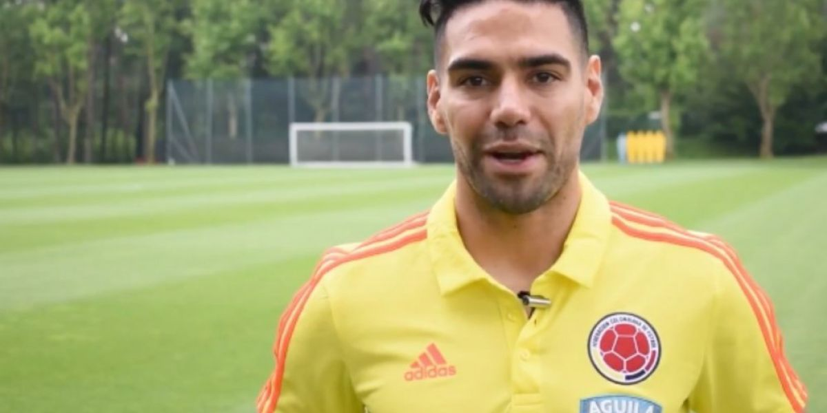 Falcao García participa del video.