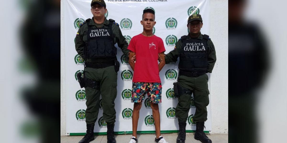 Danilo Sanjuán García, presunto extorsionista.