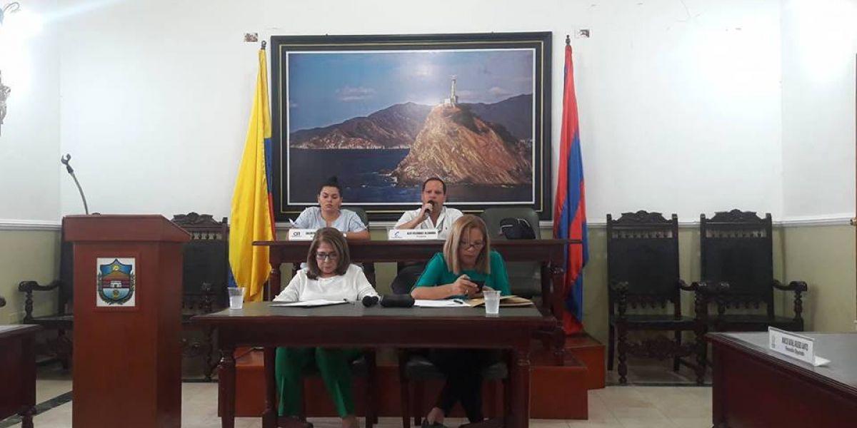Aspecto de la plenaria de la Asamblea del Magdalena.