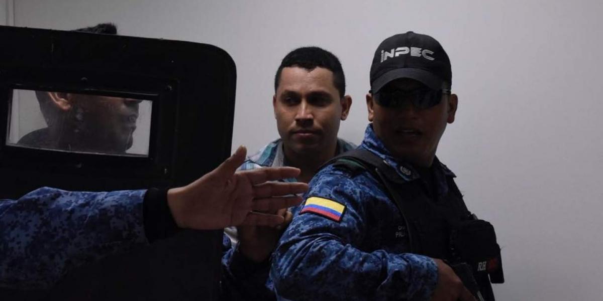 Levith Rúa, presunto asesino de Gabriela Andrea Romero Cabarcas.