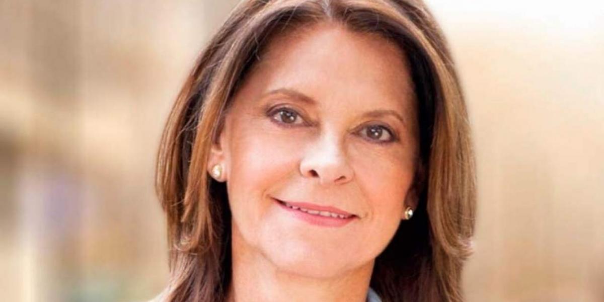 Marta Lucía Ramírez, primera vicepresidenta de Colombia.