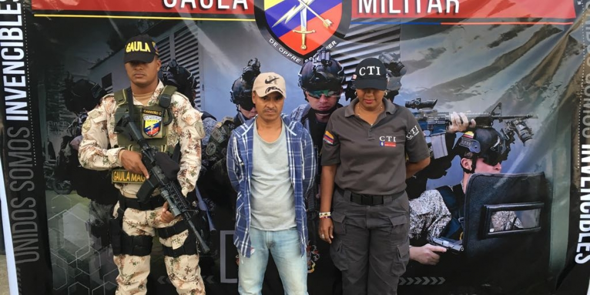 El capturado aseguraba ser de Los Pachencas.
