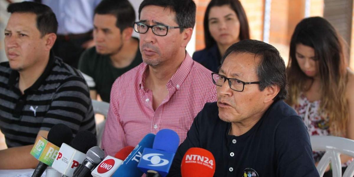 Galo Ortega, padre de Javier Ortega, uno de los periodistas del Diario el Comercio de Ecuador.