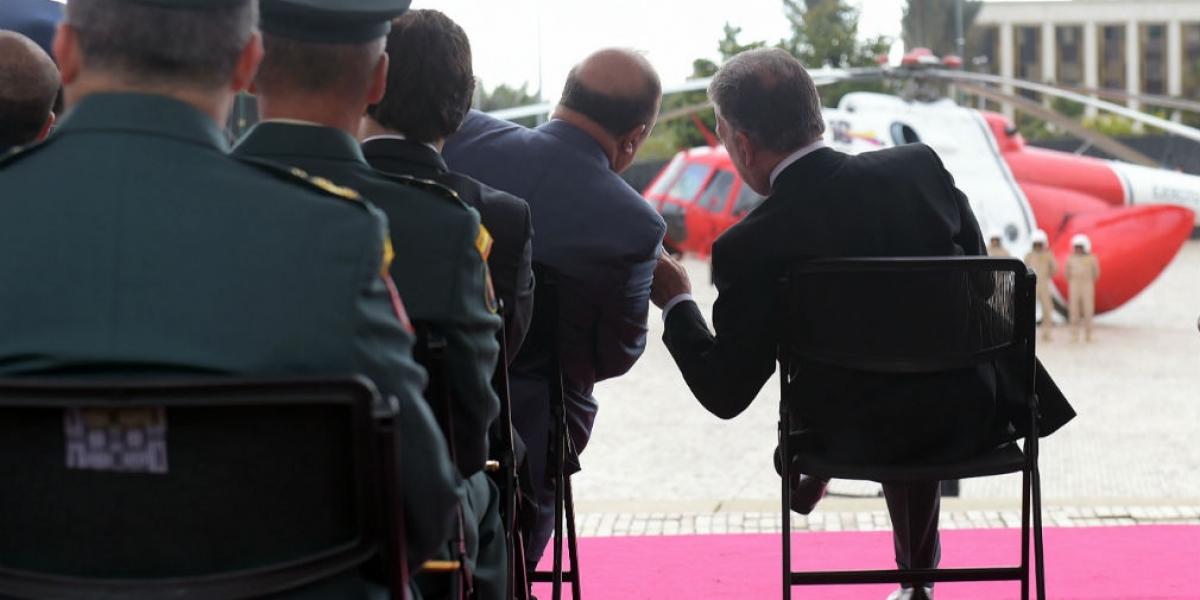 Juan Manuel Santos presidió un evento de homenaje a la Operación Jaque.