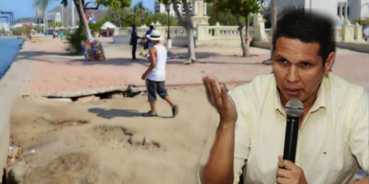 Concejal Carlos Mario Mejía solicitará a la Alcaldía que explique el proyecto de recuperación del Camellón.