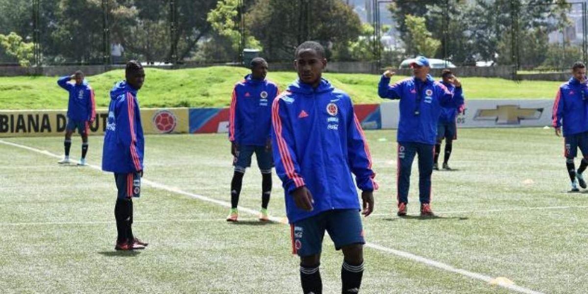 Jugadores de la Selección Colombua sub-21.