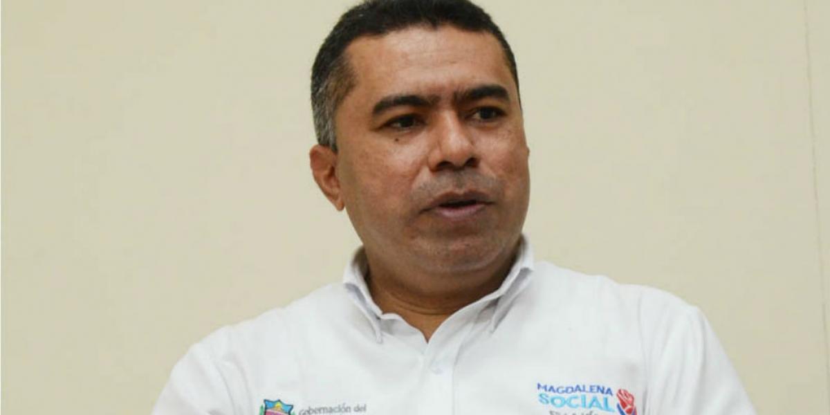 Manuel Navarro Rada, secretario de Salud.