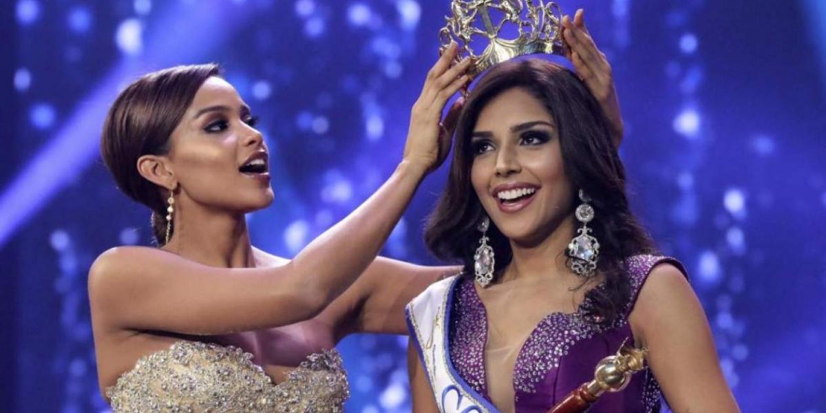 Laura González, actual señorita Colombia y Virreina Universal de la belleza.