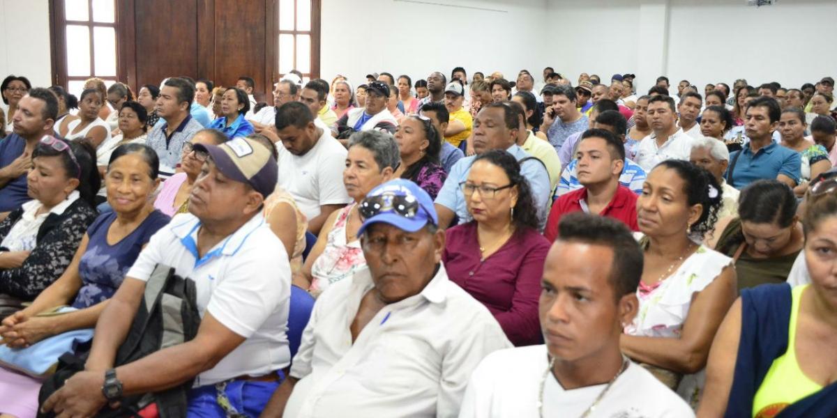 Las capacitaciones son lideradas por la Alcaldía de Santa Marta