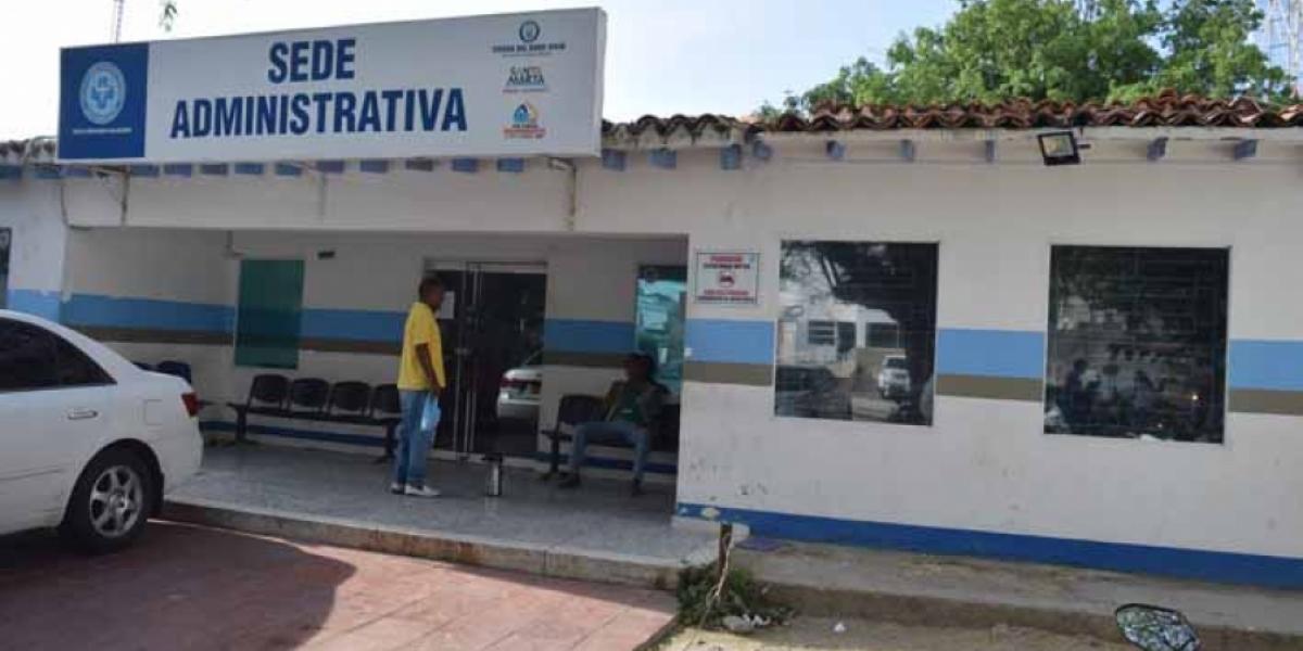 Fachada de la sede administrativa de la ESE Alejandro Próspero Reverend.