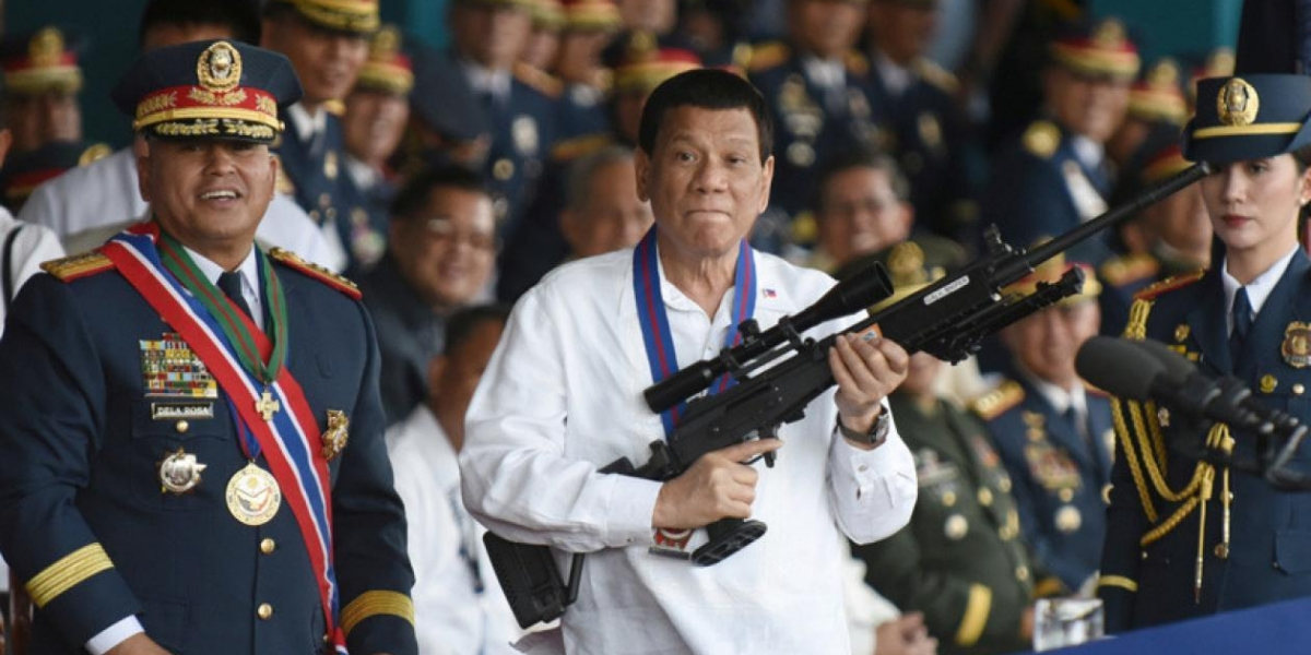 El mandatario filipino, Rodrigo Duterte.