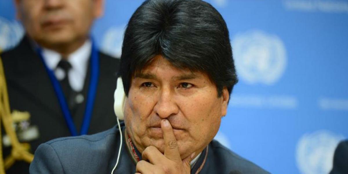 Evo Morales, presidente de Bolívia.