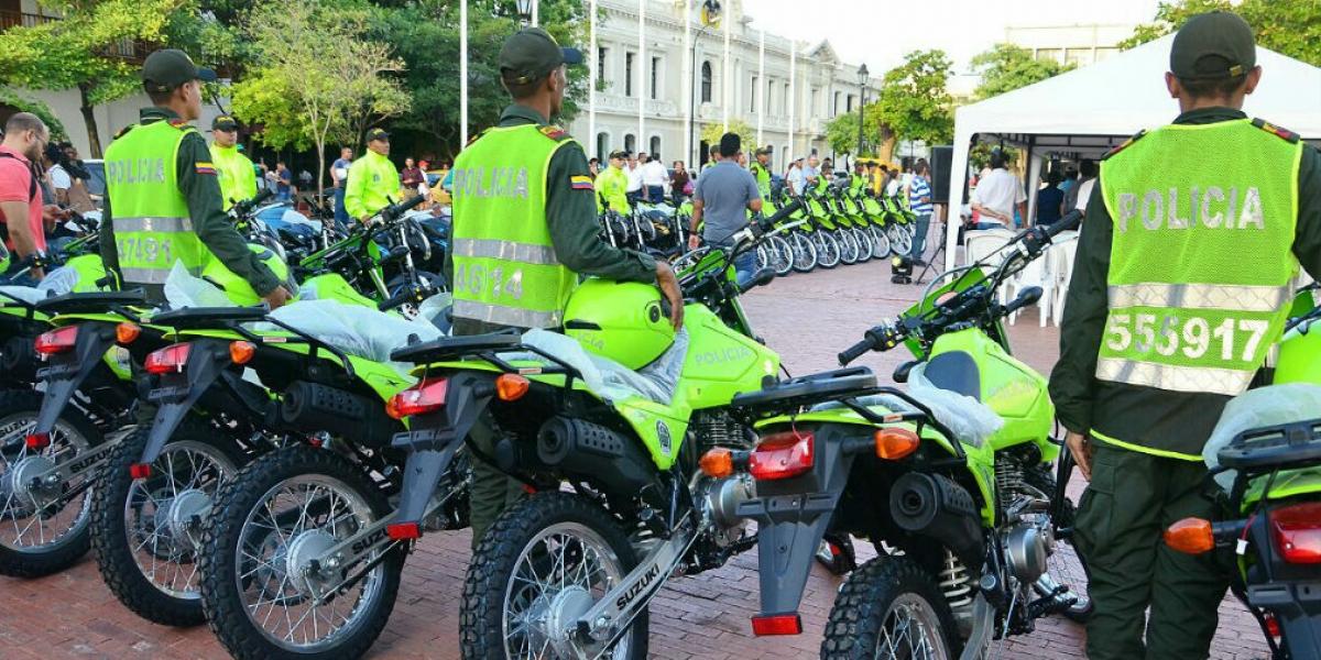Dotación de motos para la MeSan.