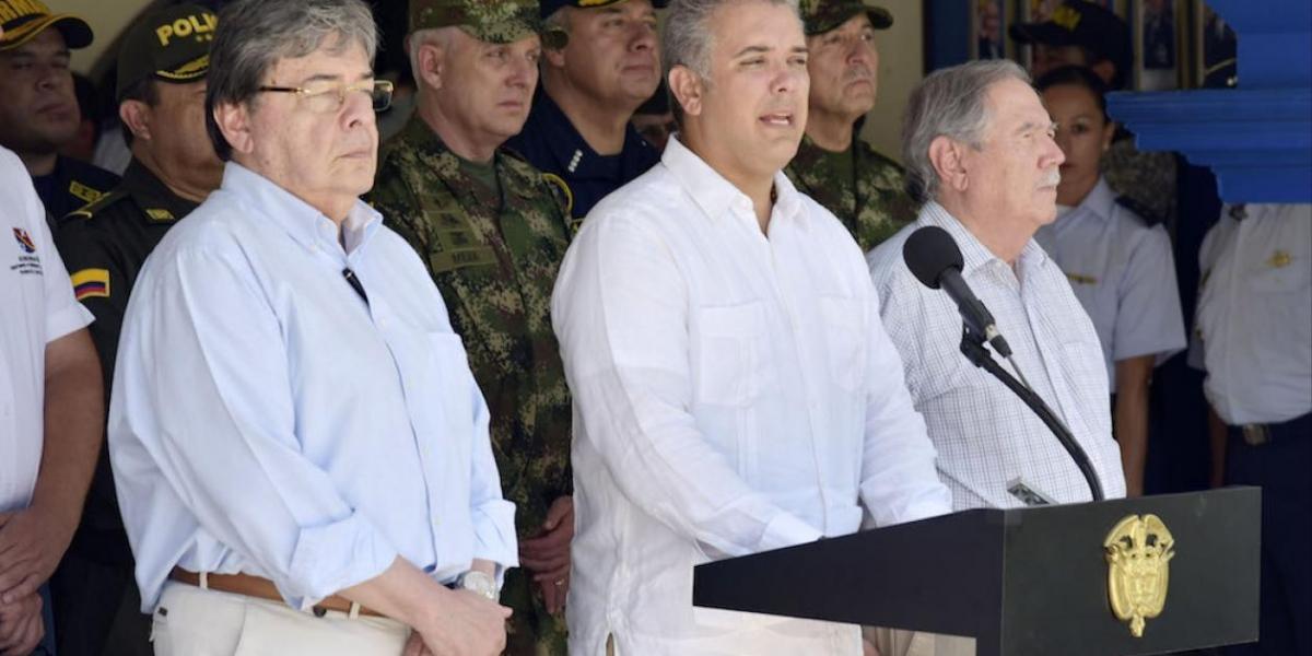 El Presidente Iván Duque y el Canciller Carlos Holmes Trujillo revisarán la situación.