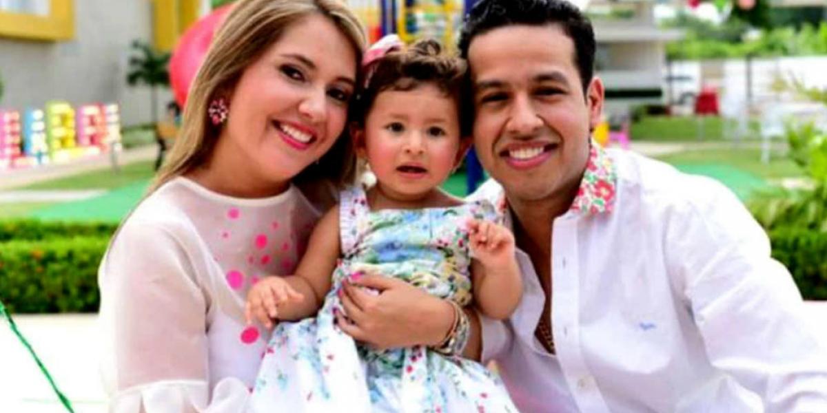 Martín Elías y familia.