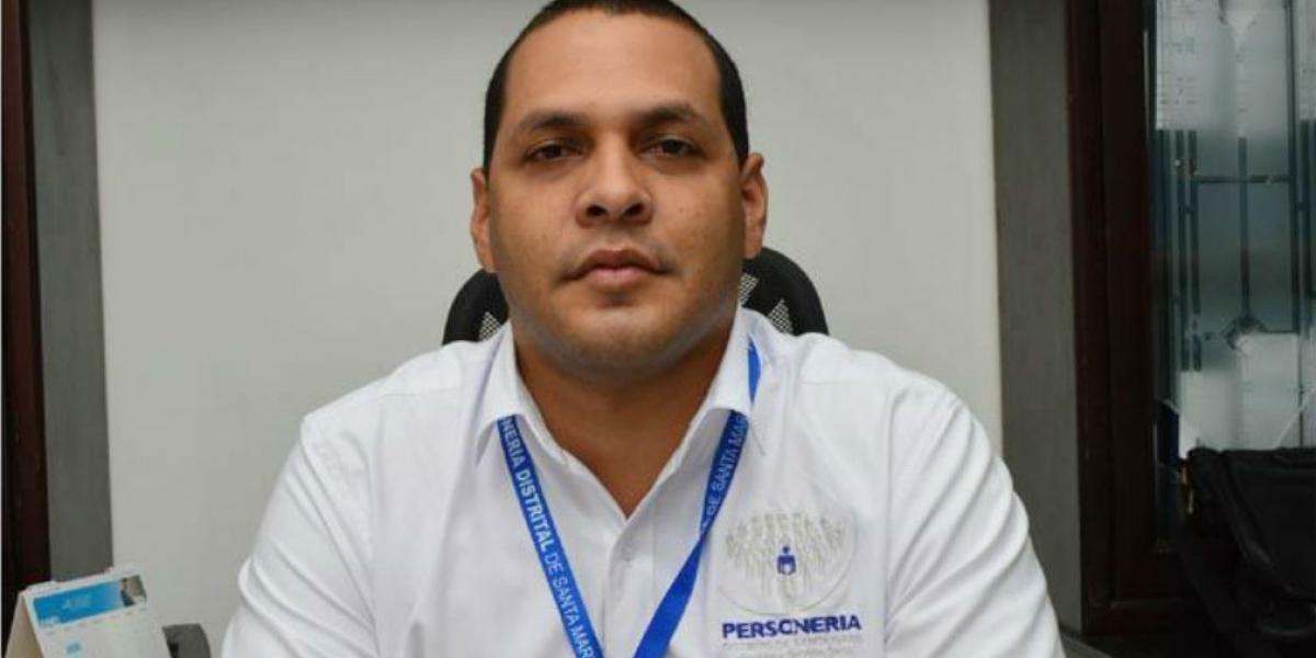 Chadán Rosado Taylor, personero distrital.