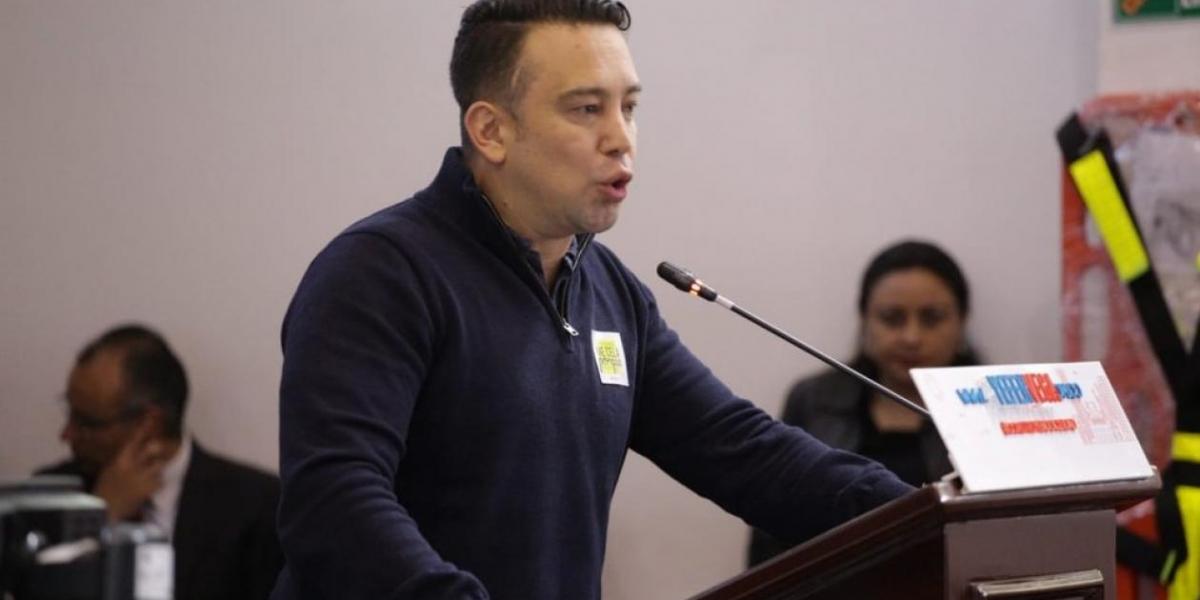 Yefer Vega, concejal del Partido Radical.