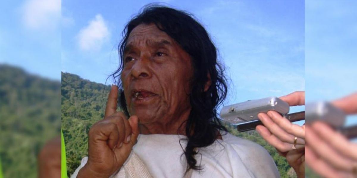 Ramón Gil, mamo wiwa.