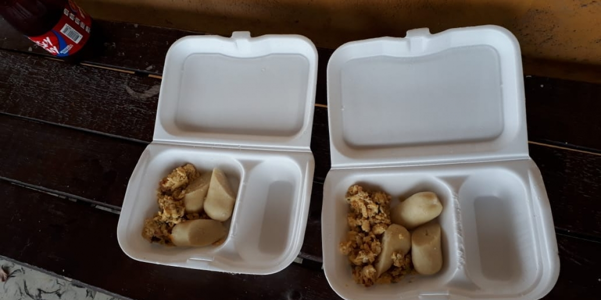 Raciones de comidas brindadas a los niños participantes en Intercolegiados Supérate.