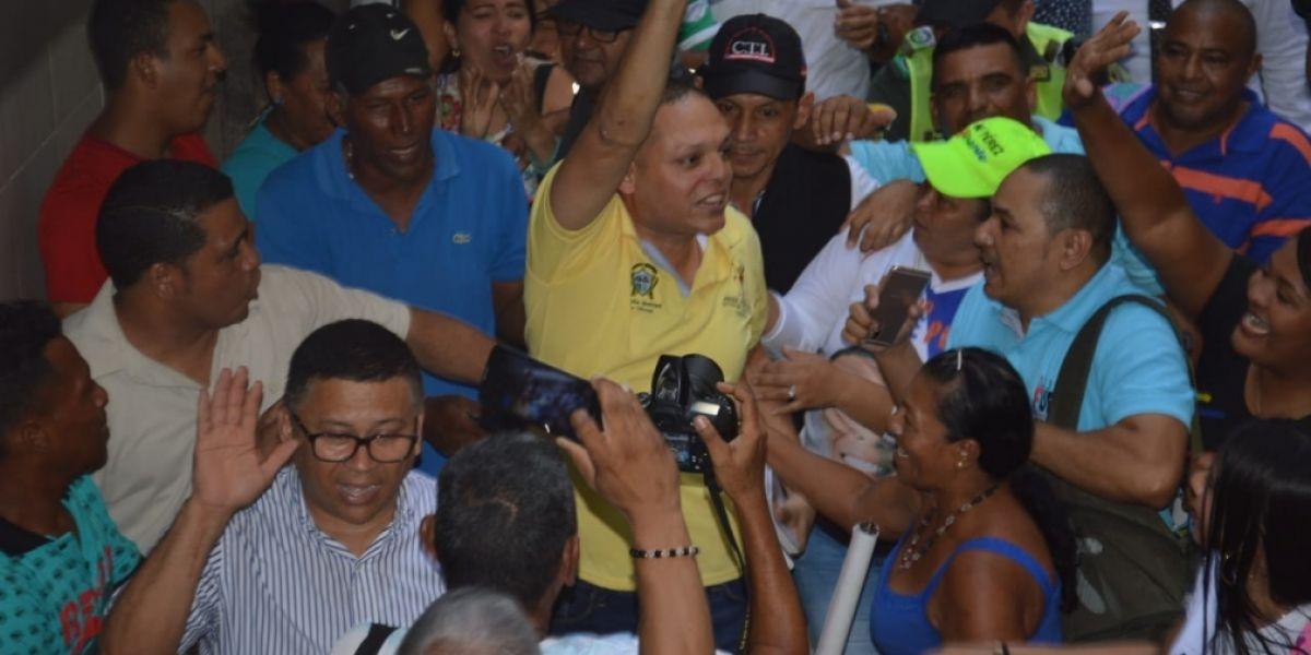Edgardo 'Nene' Pérez, alcalde de Ciénaga.
