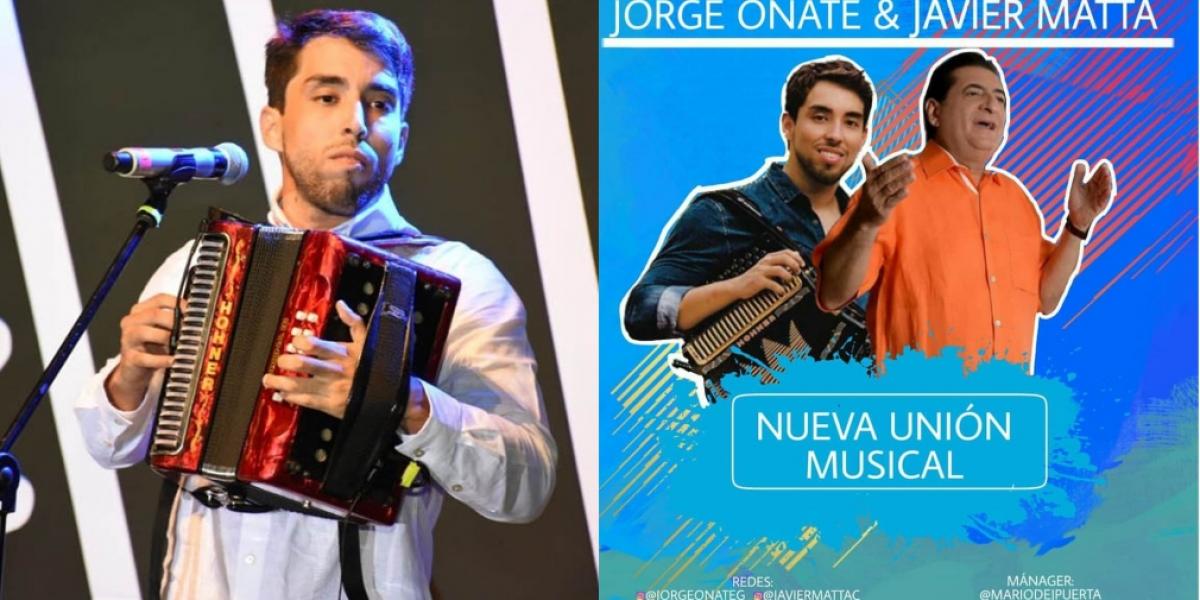 Javier Matta y Jorge Oñate