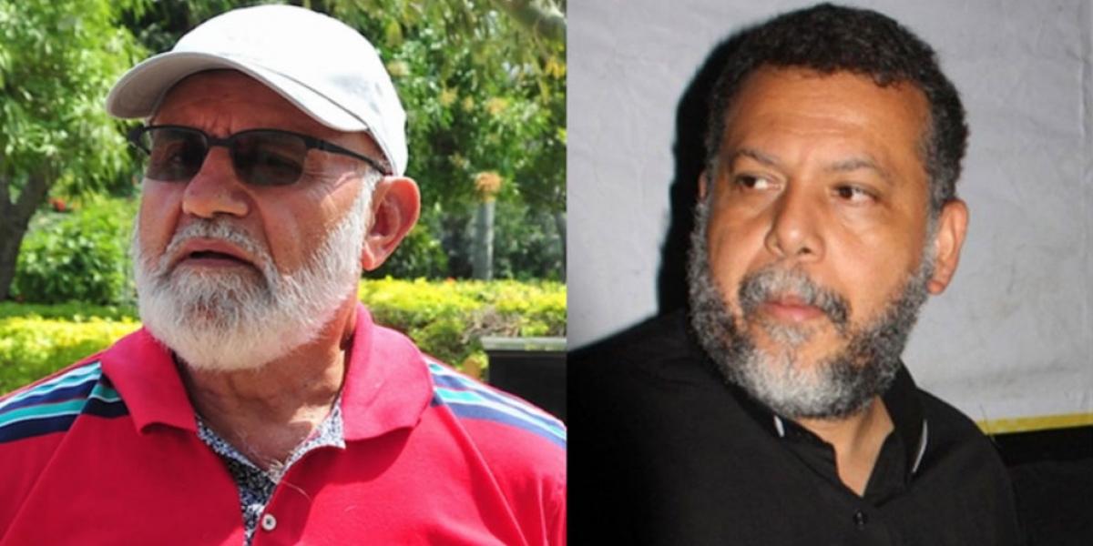 Cura Hoyos y Alberto Linero.