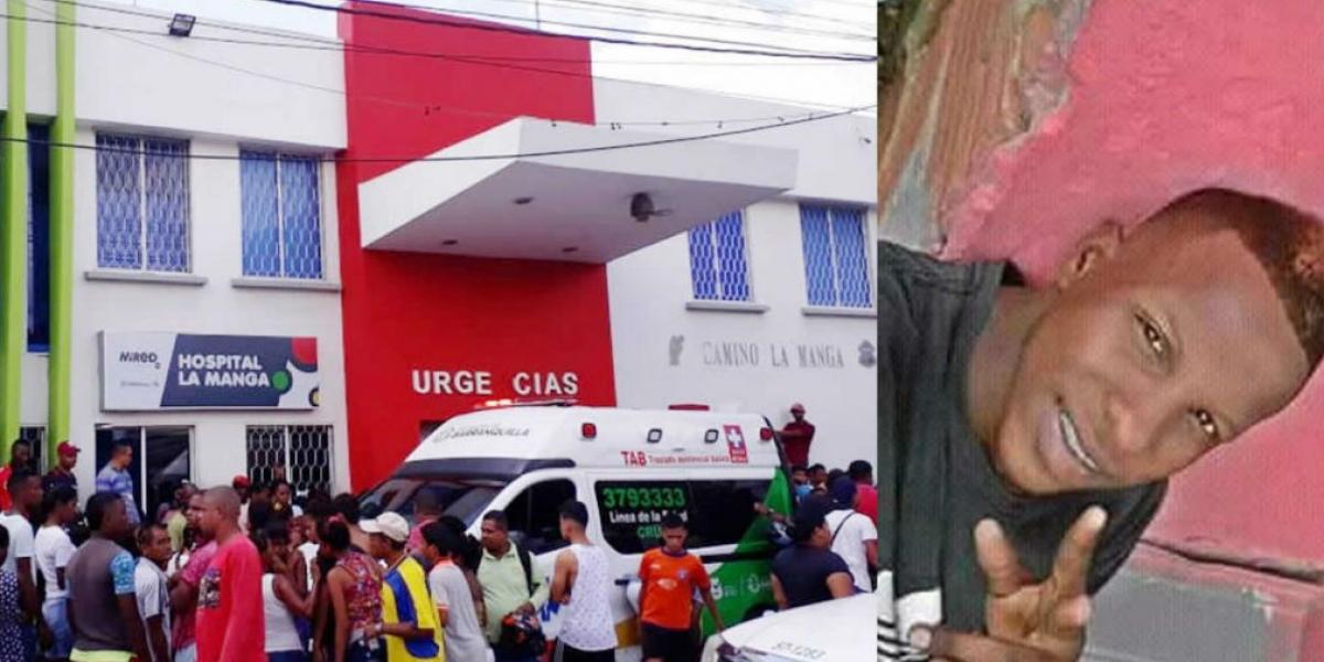 Johan Soto falleció cuando era atendido en el Camino La Manga.