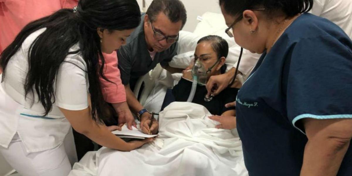 El documento fue firmado en Barranquilla por Enilce López, quien está en prisión domiciliaria por complicaciones de salud.