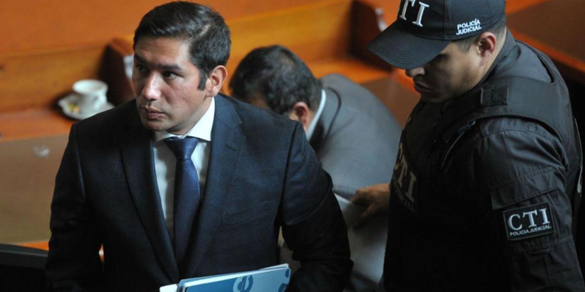 El exfiscal anticorrupción Luis Gustavo Moreno.
