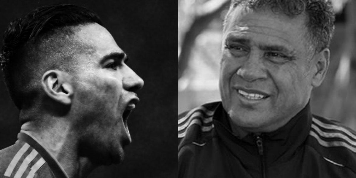 Luto en el fútbol colombiano por la muerte del papá de Radamel Falcao García.