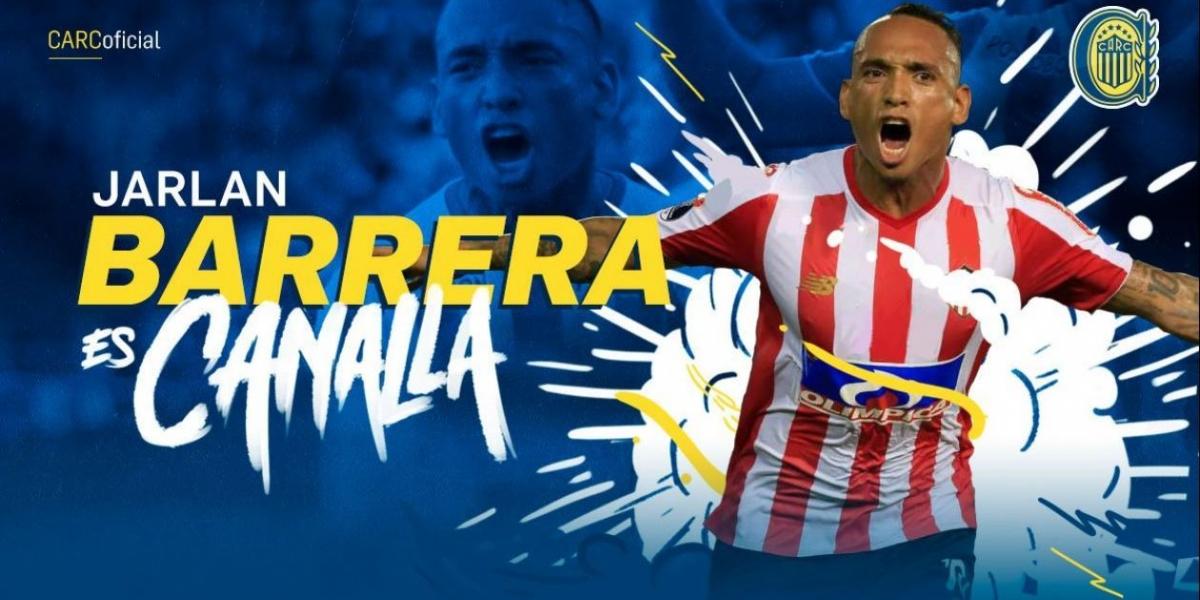 El futbolista samario Jarlan Barrera.