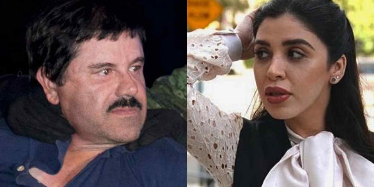 Joaquín 'El Chapo' Guzmán y su mujer Emma Coronel