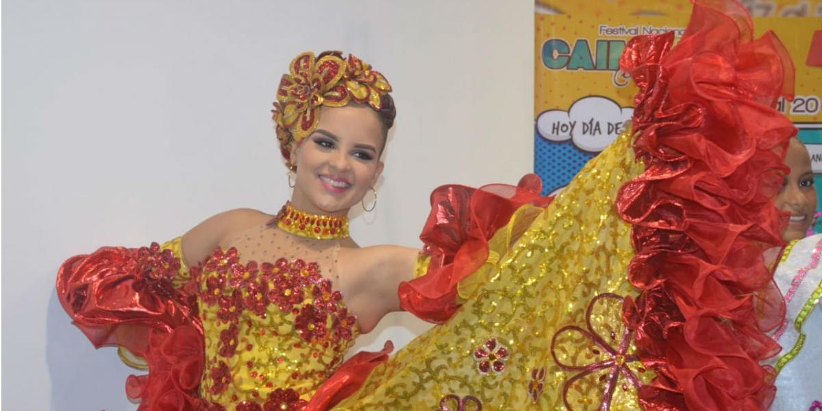 Nicol Díaz, Reina Central del Festival Nacional del Caimán