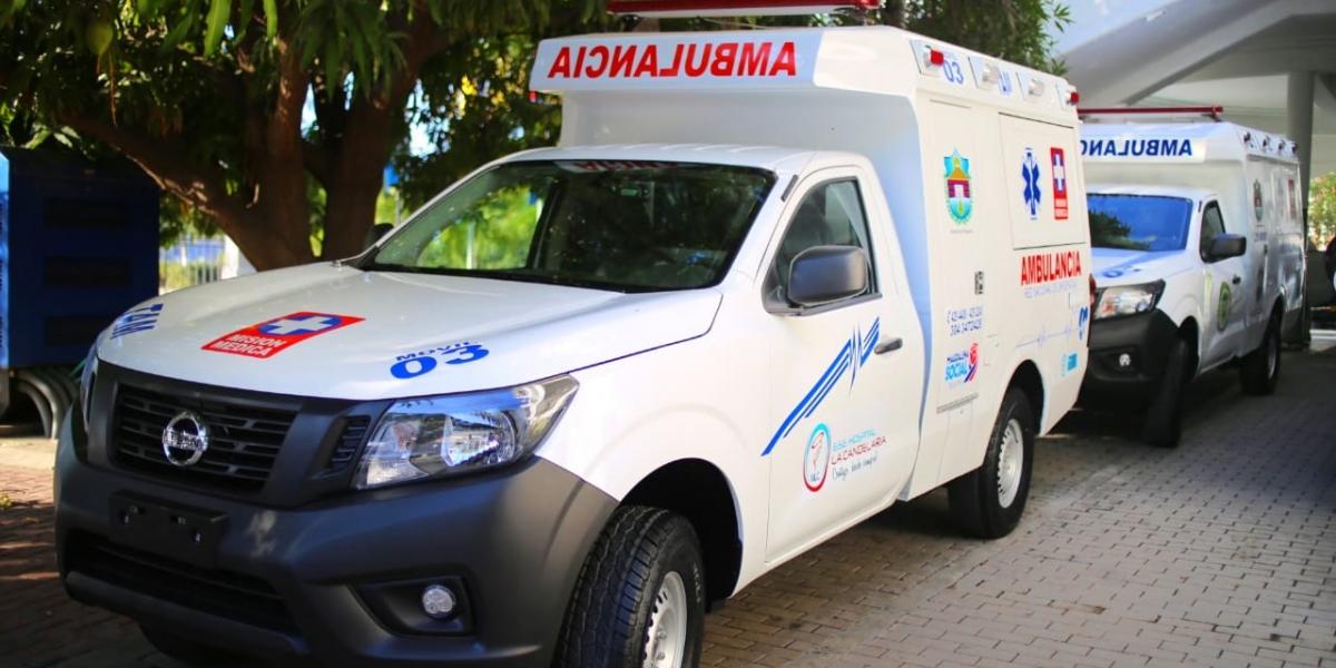 La Gobernación ha entregado nueve ambulancias en diferentes municipios del departamento.