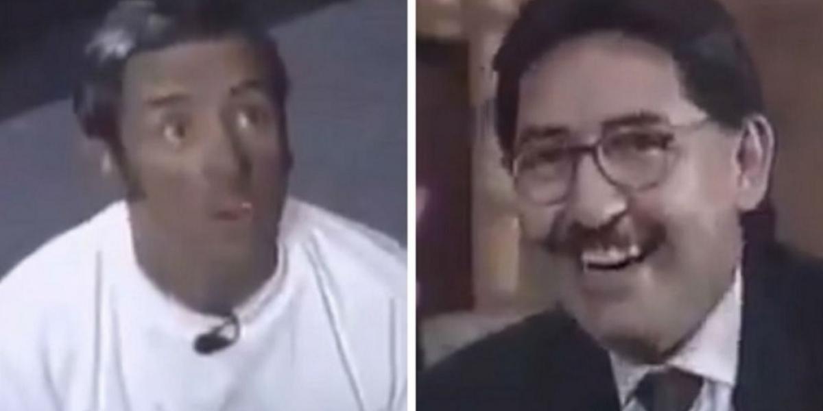 Jaime Garzón y Néstor Humberto Martínez hace 21 años