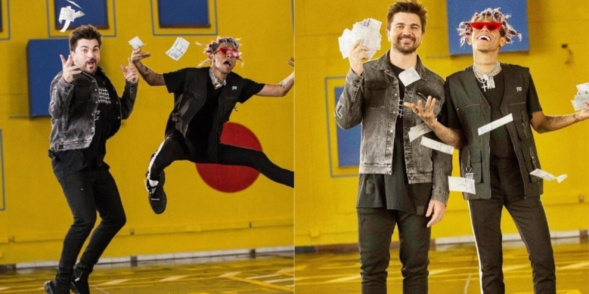 Juanes y Lalo Ebratt