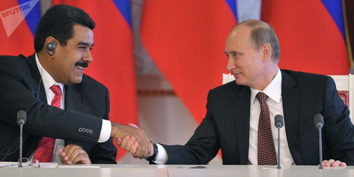 Nicolás Maduro y Vladimir Putin, en un encuentro anterior.