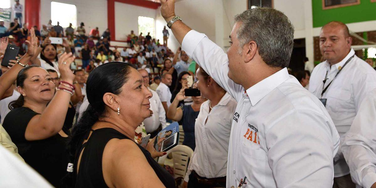 El presidente Iván Duque Márquez participó en el  durante el Taller Construyendo País número 18, realizado en la capital de Casanare.