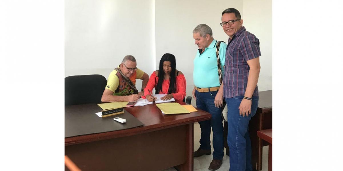 Ropero espera conseguir las firmas para aspirar a la Alcaldía de Aracataca.