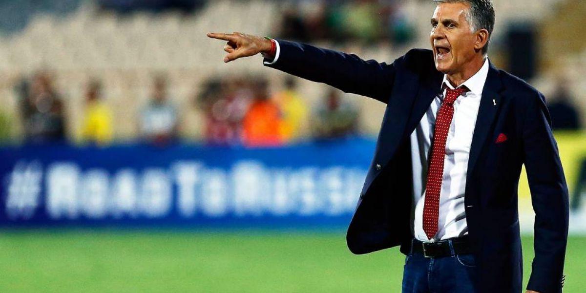 El técnico portugués se encuentra con Irán disputando la Copa Asiática.