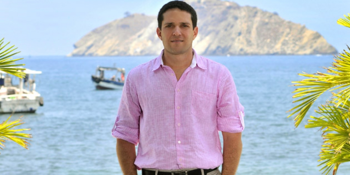 Camilo George Díaz fue vocero de la Sociedad Portuaria por 7 años. Ahora será secretario de Seguridad.