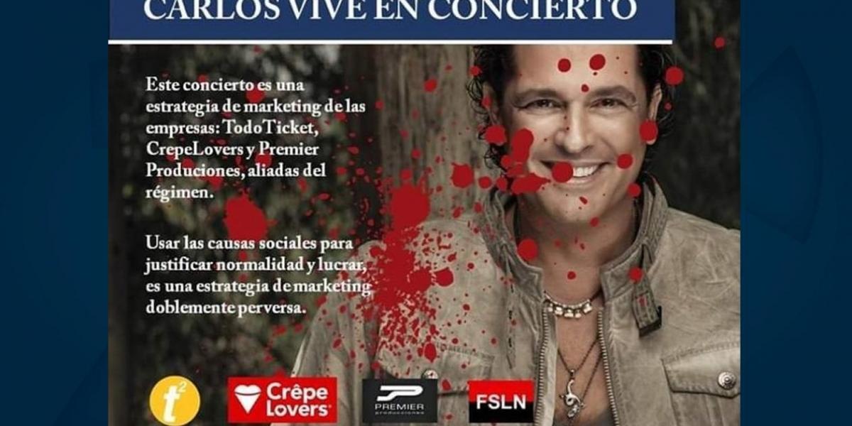 Zoológico de Nicaragua lamenta suspensión del concierto de Carlos Vives