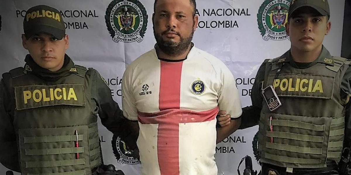 Robinson Arturo Solano Palomino, de 35 años
