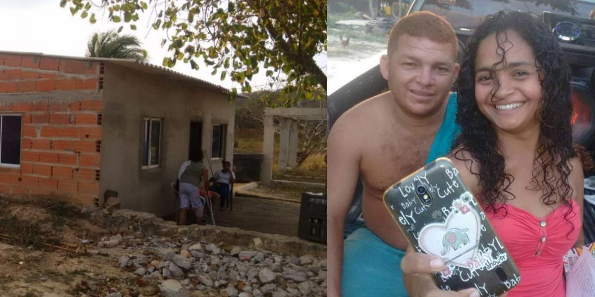 Aida Rada y Luis Carlos Bonilla, víctimas del ataque sicarial.