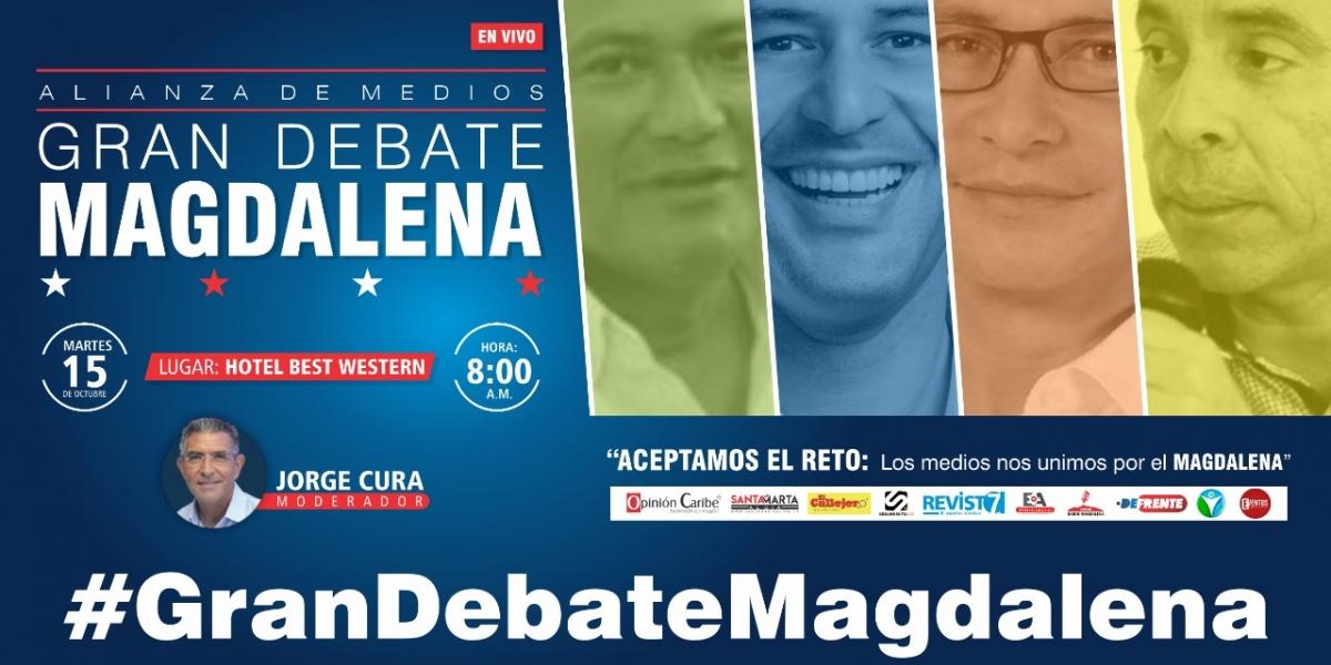 El debate será transmitido a través de streaming.