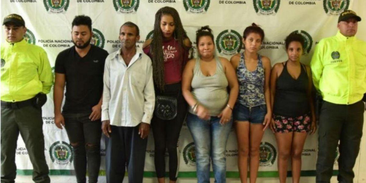 Cae banda colombiana por trata de menores — Repudiable