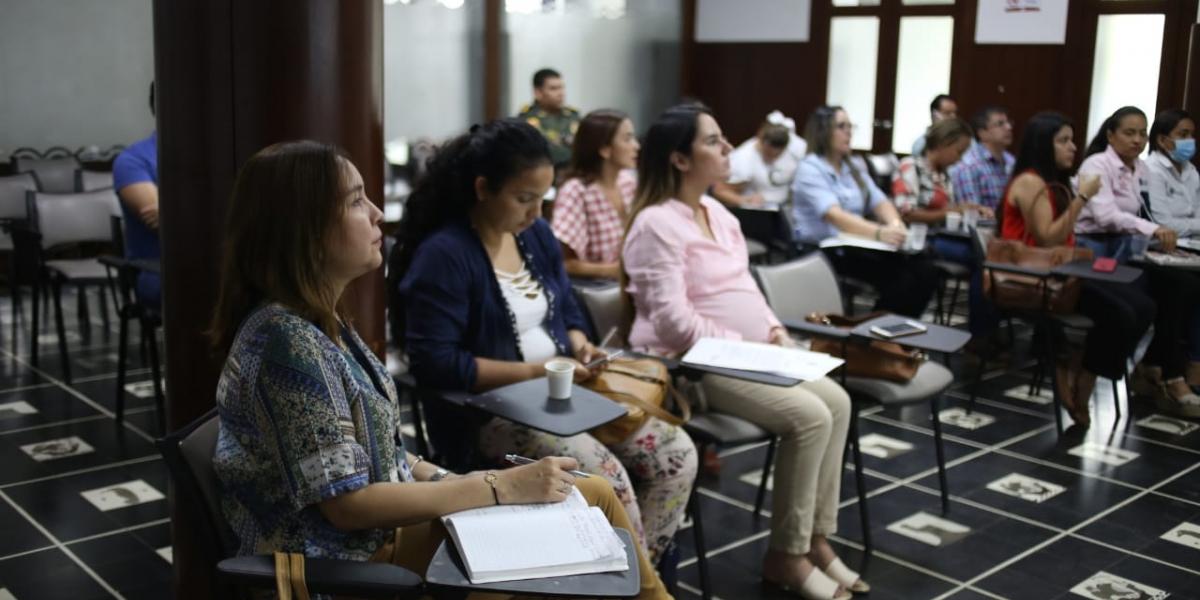 Gobernación del Magdalena lidera comité en favor de la eliminación de la violencia contra la mujer.