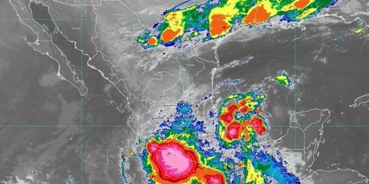 Ciclón tropical.