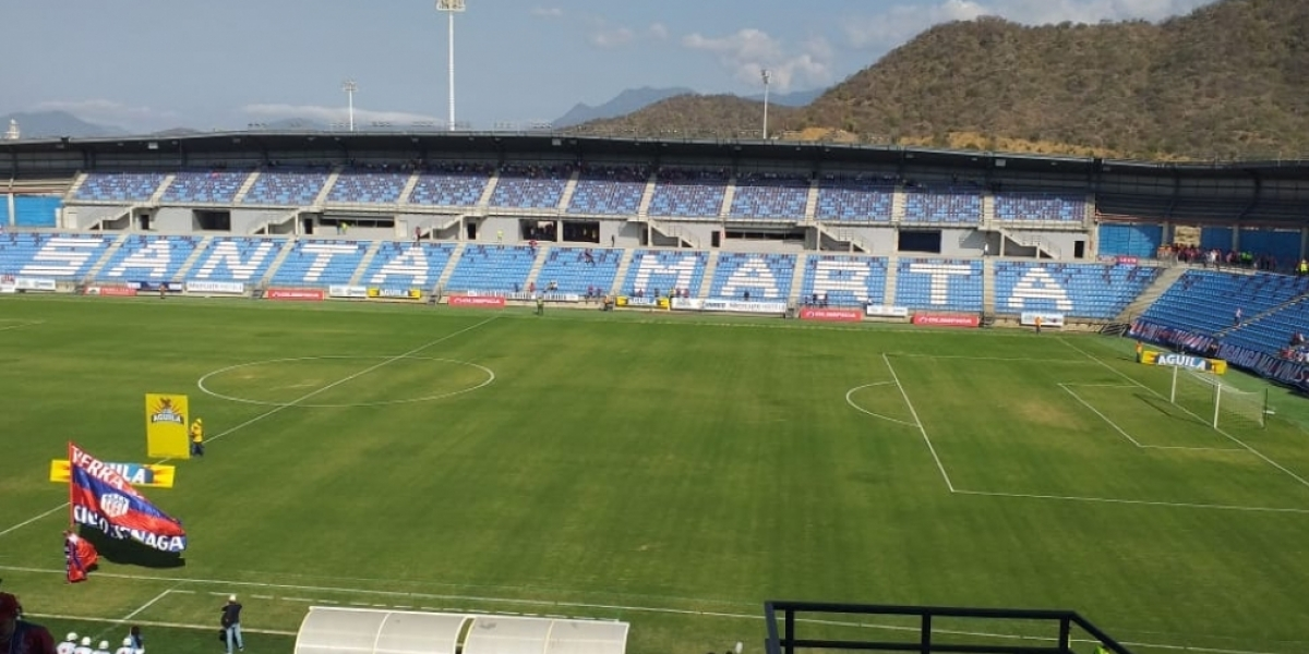 Estadio Sierra Nevada.
